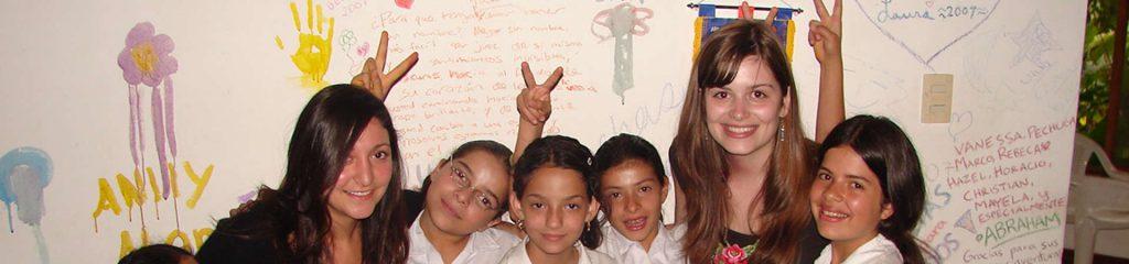 Costa Rica Childcare Volunteering Kids