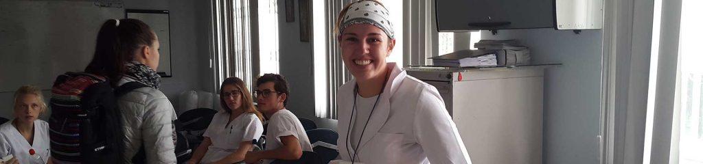 Pflegepraktikantin in Quito