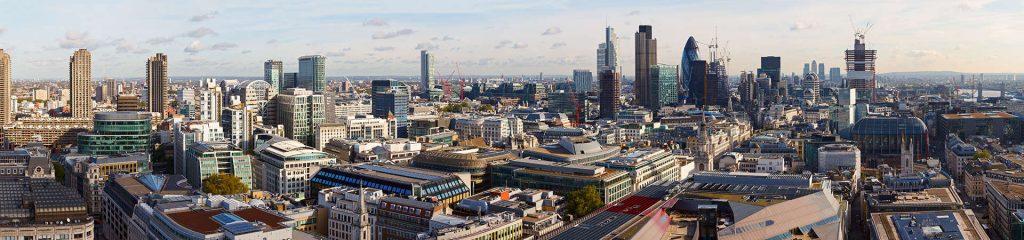 England London City Skyline