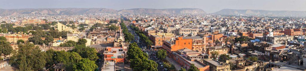 Indien Jaipur Stadtbild