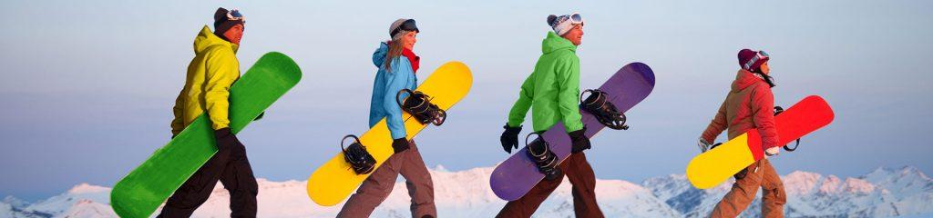 Snowboarding in Neuseeland