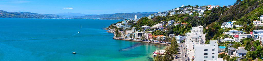 Touristenort in Neuseeland