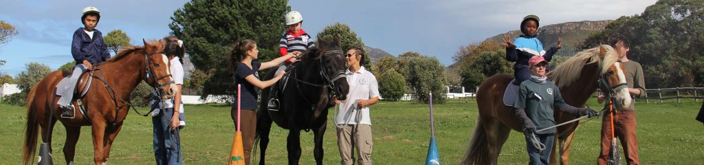 South Africa Cape Town Riding for the disabled