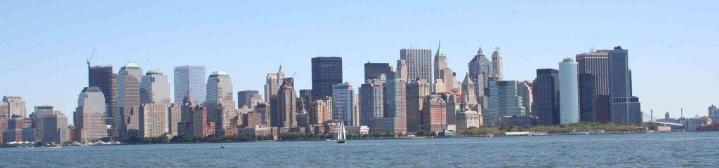 USA New York Manhattan Skyline